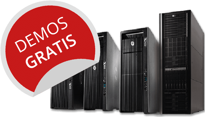 virtualización de servidores demos
